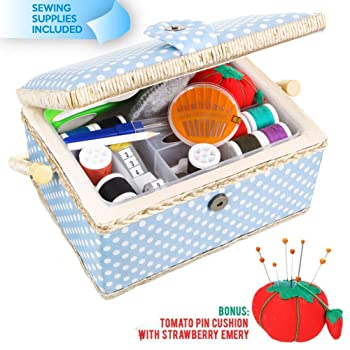 Sew kit Large Sewing Basket with Accessories Sewing Kit