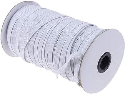 5 Yards Length DIY Braided Elastic Band Cord Knit Band Sewing 1//8 inch