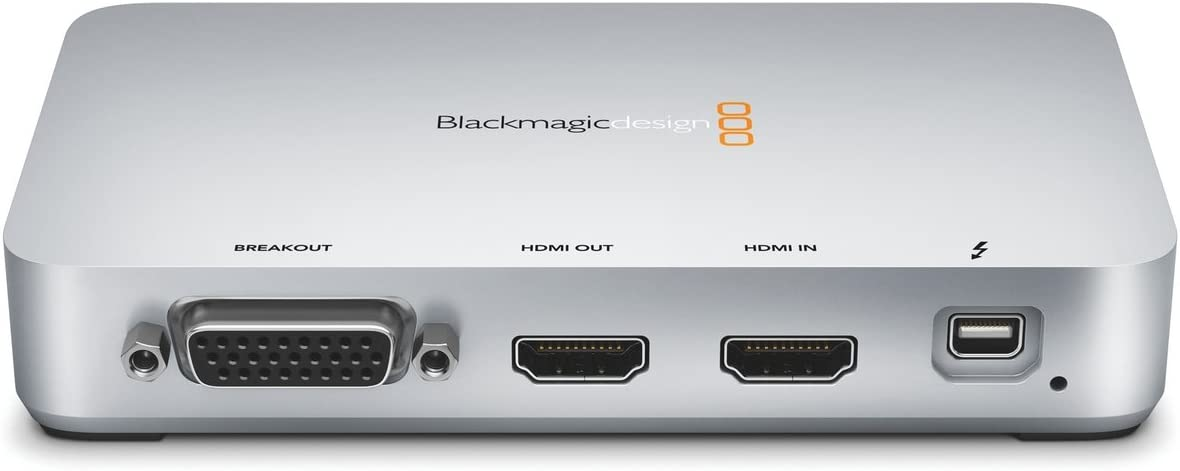 Amazon Com Blackmagic Design Intensity Extreme Hdmi And Analog Capture Playback Device Thunderbolt Electronics