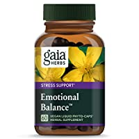 Gaia Herbs Emotional Balance Liquid Capsules, Plant-Based Mood Support Supplement...