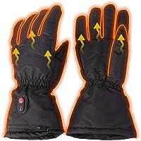 Supermalls Elektrisch verwarmde handschoenen 3 temperatuursinstellingen USB oplaadbare Verstelbare Handen Warmer Met 2…