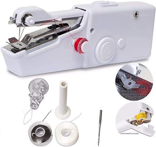 Máquina de coser de mano - Muttiy Simple Quick Handy stitch Mini ...
