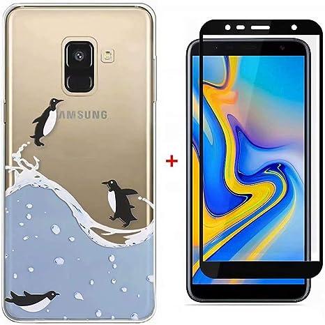 Funda Samsung Galaxy J6 2018 Case WYRHS Ultra Suave TPU Silicona ...