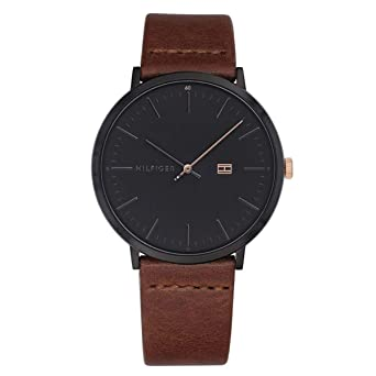688da6d2 Image Unavailable. Image not available for. Color: Watch Tommy  HilfigerMen's James Watch Quartz Mineral Crystal 1791461 1791461