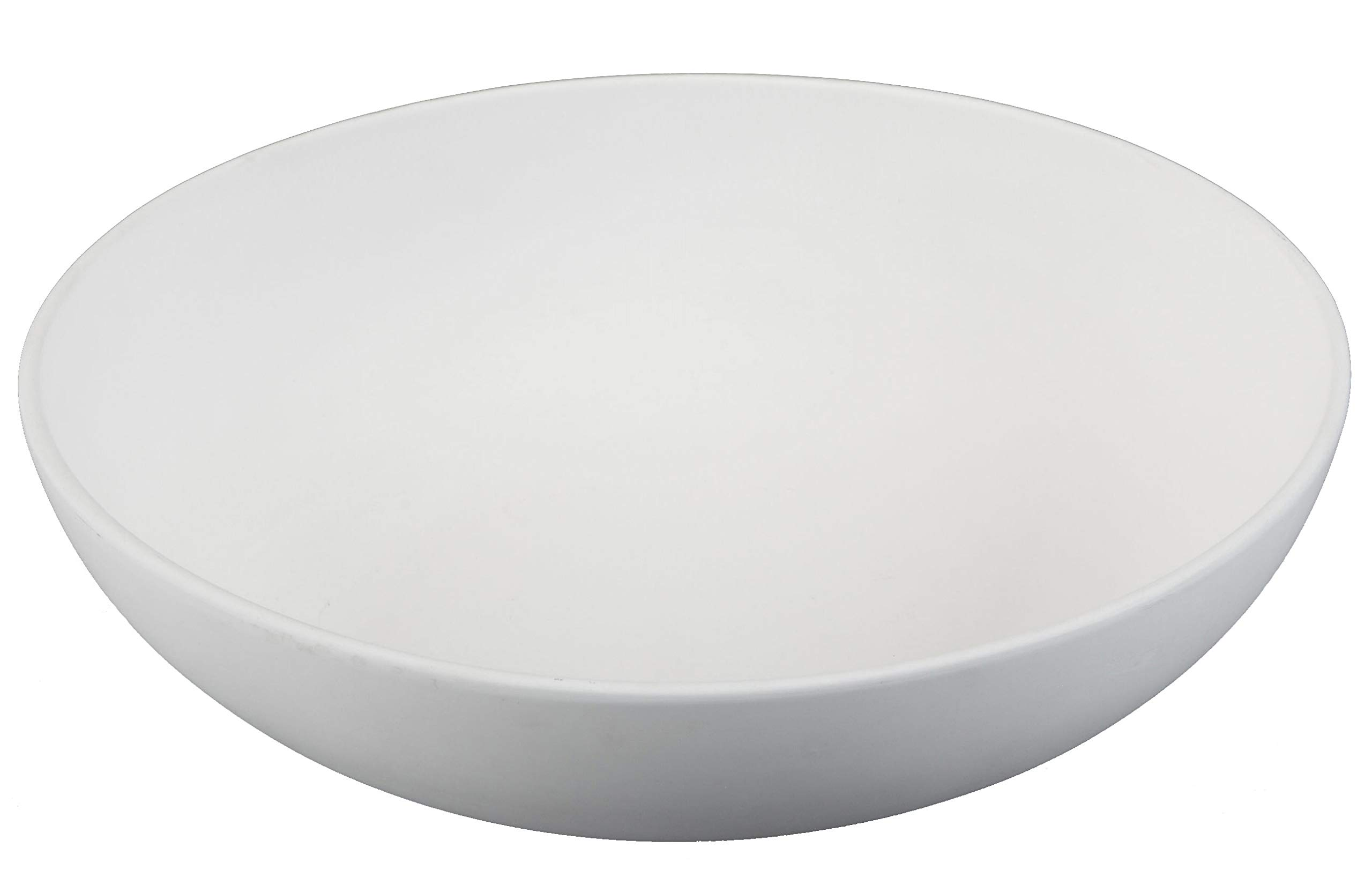 Creative Hobbies 11 Inch Coupe Serving Bowl, Case of 6, Unfinished Ceramic Bisque, with How to Paint Your Own Pottery Booklet by Creative Hobbies (Image #1)