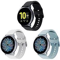 Syxinn Compatibel met armband Galaxy Watch Active/Active2 40 mm 44 mm / Galaxy Watch 3 41 mm armband 20 mm vervangende…