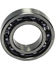 Shuster 6003 JEM Deep Groove Ball Bearing, Single Row, Open, Electric Motor Quality, C3 Clearance, 35 mm Height, 10.0 mm Width, 35 mm Length, 17.0 mm ID, 35 mm OD, High Carbon Chrome Bearing Steel