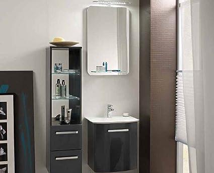 Pelipal Nito Juego de 3 piezas de muebles de baño/lavabo/armario/superficie