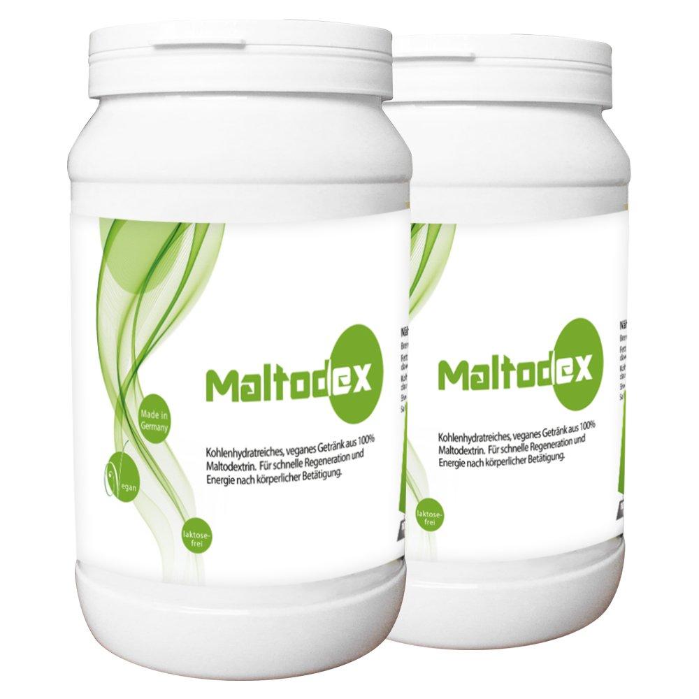 NEU! Maltodex - 2x1000g - 100% reines Maltodextrin-Vegan-Laktosefrei ...