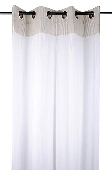 f894602f275 Lovely Casa R68295001VL Voile Cotton Linen 135 x 260 cm  Amazon.co.uk   Kitchen   Home