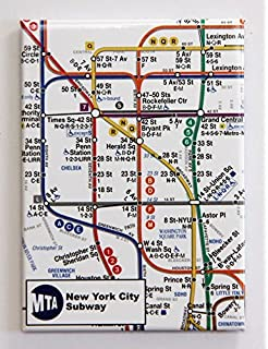 Amazon las vegas golden knights hockey puck business card new york city subway map magnet 35x25 reheart Image collections