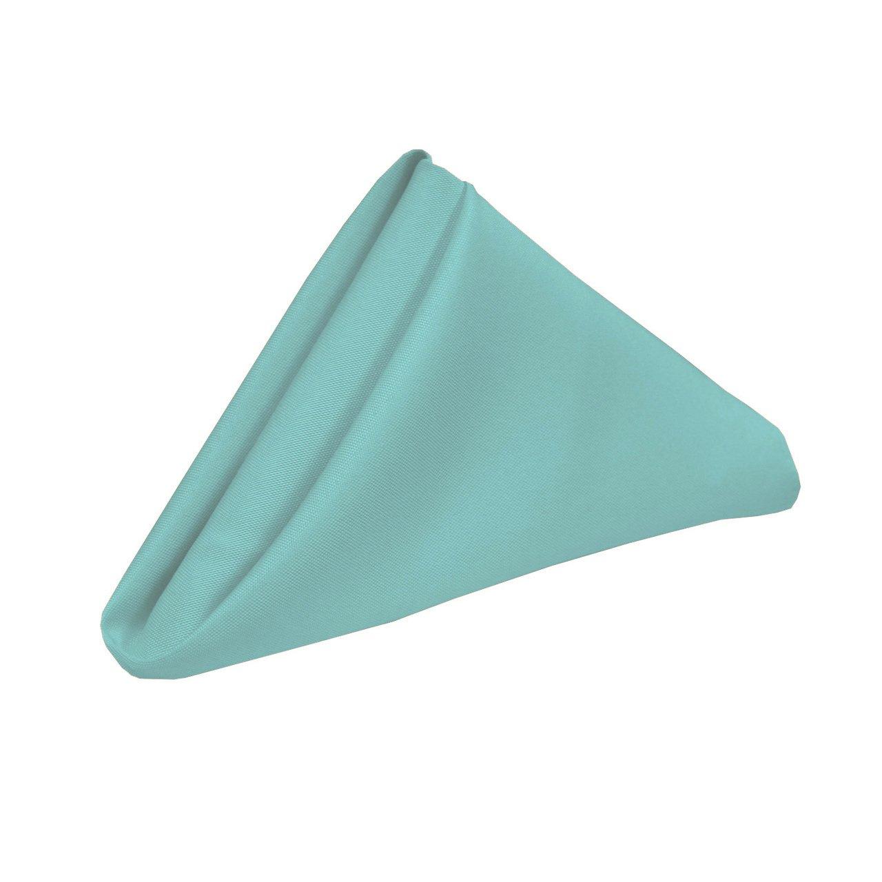 Your Chair Covers 20インチ ポリエステル 布ナプキン 結婚式 レストランナプキン用 10個パック ブルー  Robin Egg B017KSYD8E