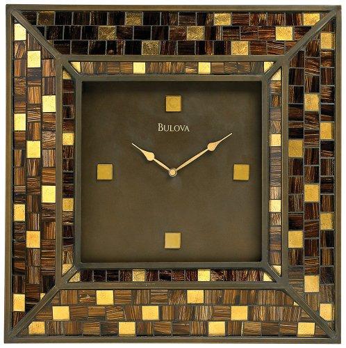 Bulova Alsace Large Deco Wall Clock - (Alsace Wall)