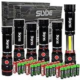 6 pack Nebo Slyde + 300 Lumen LED flashlight/Worklight 6156 and 24 X ...