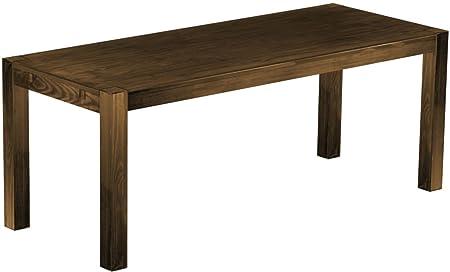 Massivholz Tisch Rio Kanto 200x80 Farbton Eiche Antik Pinien