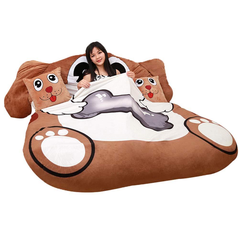 寝袋柔らかいマットレス B07PMF7TKD、1.2m×2m/ 1.5m×2m多機能怠惰なソファ/ 畳 1.5X2m、シングル/ダブル厚くする折りたたみ大ぬいぐるみベッド、寝室のリビングルームのバルコニーに適しています 1.5X2m B07PMF7TKD, トキワマチ:4ea9b4ac --- krianta.com