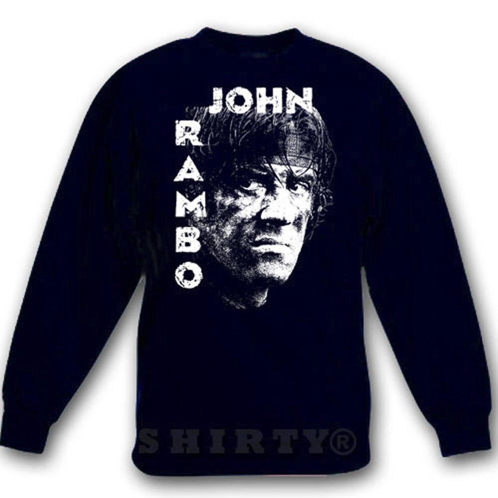 Rambo 1 - Sweat - Shirt - schwarz - S bis 5XL - 1069