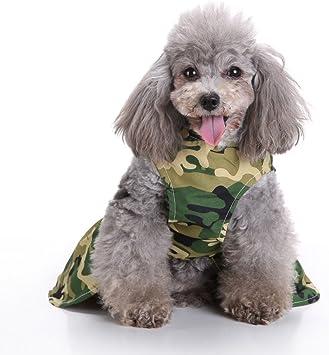 Amazon.com: Smdoxi - Vestido de camuflaje para mascota ...