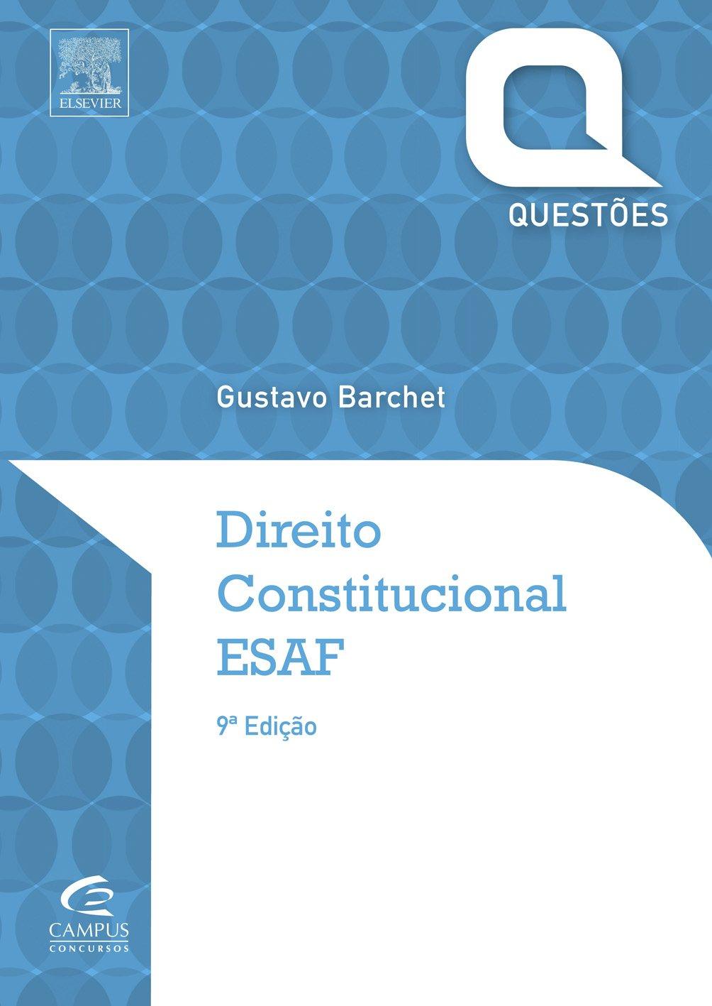 Download Direito Constitucional. ESAF - Série Questões pdf epub