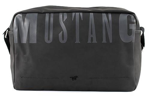 Mustang Alabama Farrell ShoulderBag SVF Dark Grey w1zD8NG