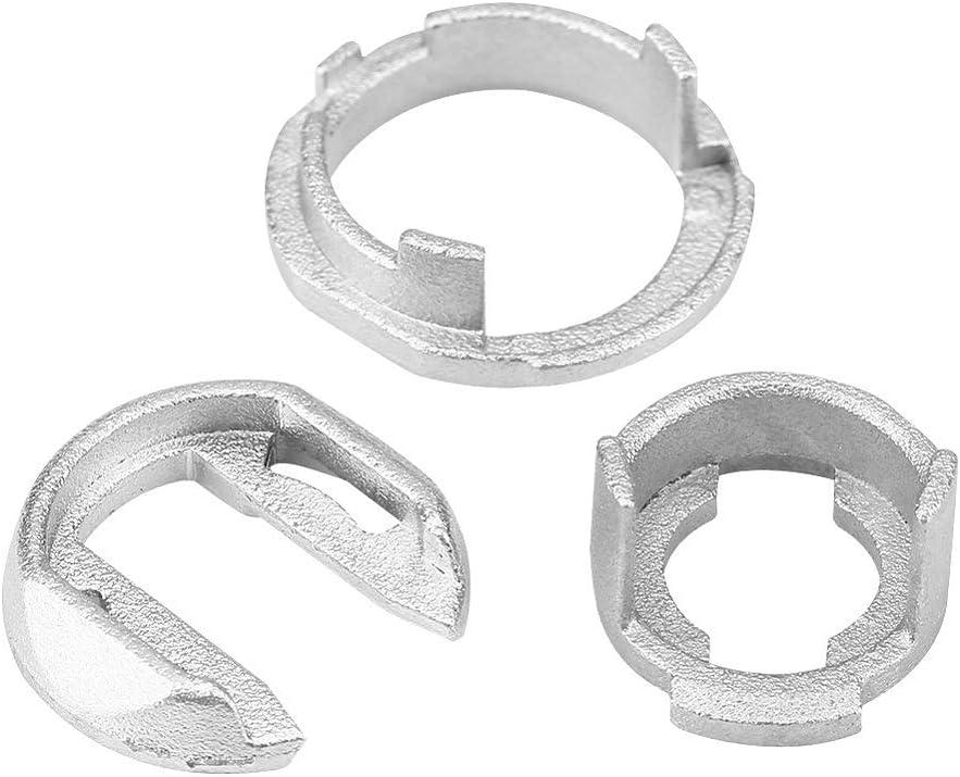 Kit de Reparaci/ón de Cerradura de Puerta de Coche,Kit de Reparaci/ón de Cilindro de Cerradura de Puerta Delantera izquierda Derecha para V W IV 4 Tipo 1J1 MK4 1997-2005 4 Variante Tipo 1J5 1999-2007