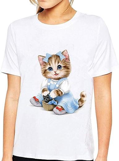 t-shirt femme dessin animé
