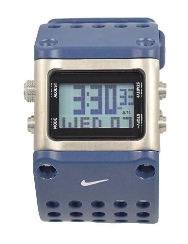 New para hombre raras Nike trineo wc0040 Azul Cronógrafo Reloj Deportivo: Amazon.es: Relojes