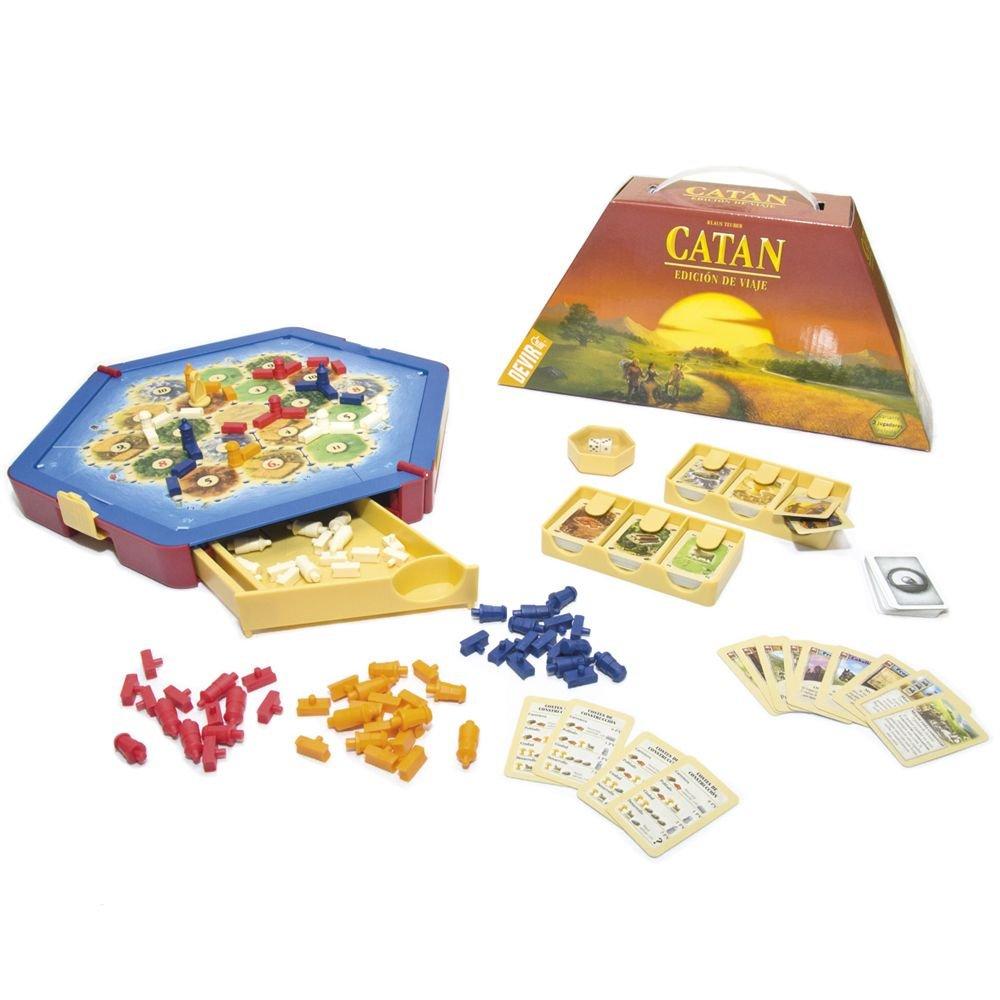 Devir - Catan, juego de mesa (222579) - Edición de viaje