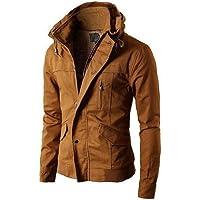 Self Design men's Jacket denim Jacket (L)