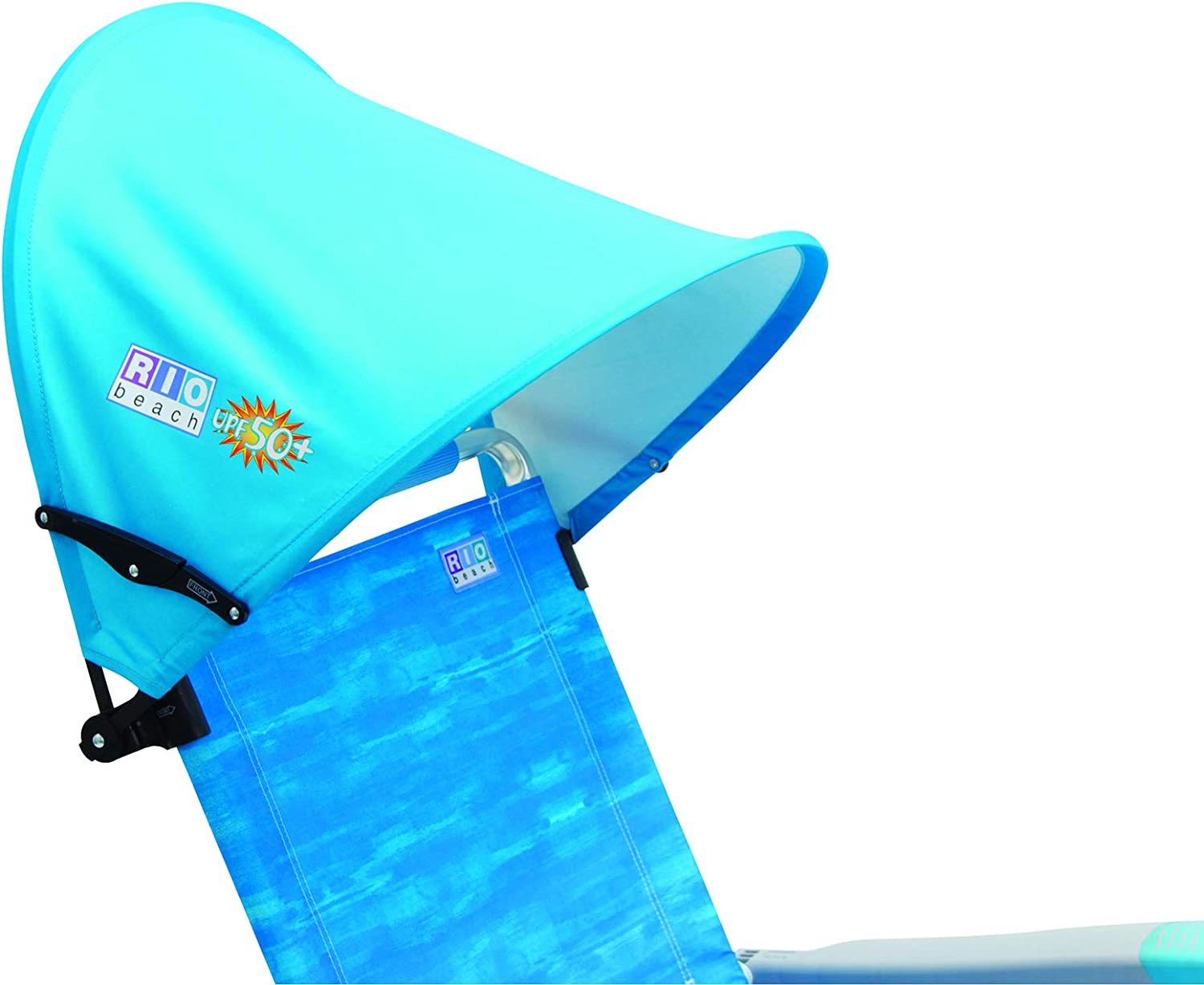 Rio Beach Mycanopy Personal Chair Sun Shade Blue Sports Outdoors