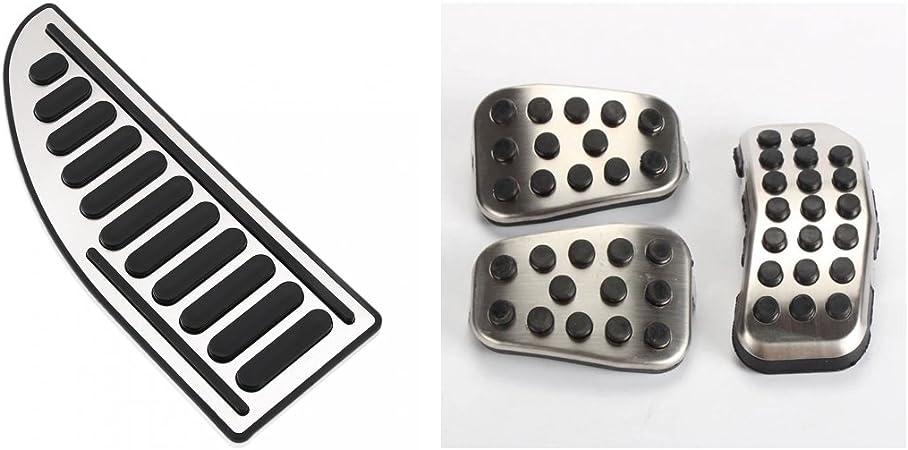 /LHD cambio automatico Emblema Trading Emblem Tuning Pedal Set Pedale pedali acciaio inossidabile fussst Uetze sinistra manubrio/
