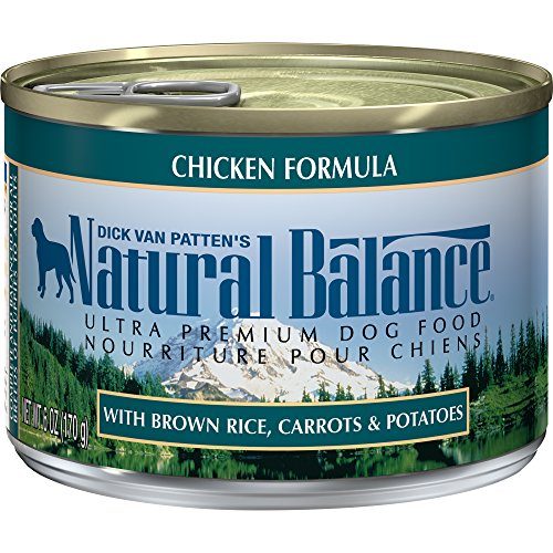 Natural Balance Ultra Premium Canned Dog Food, Chicken Formula, 6-Ounce (Pack Of 12)