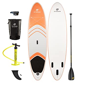 Fit Ocean Magic Glide Naranja 10.8Stand Up Paddle (SUP ...