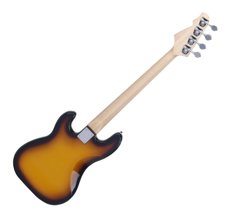 Rocktile Punsher Bass - Bajo eléctrico, sunburst: Amazon.es: Instrumentos musicales