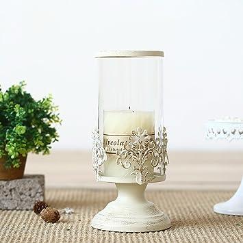 weiße schmiedeeiserne möbel europäische klassische weiße schmiedeeisernen möbeln dekoriert kerzenhaltere amazonde