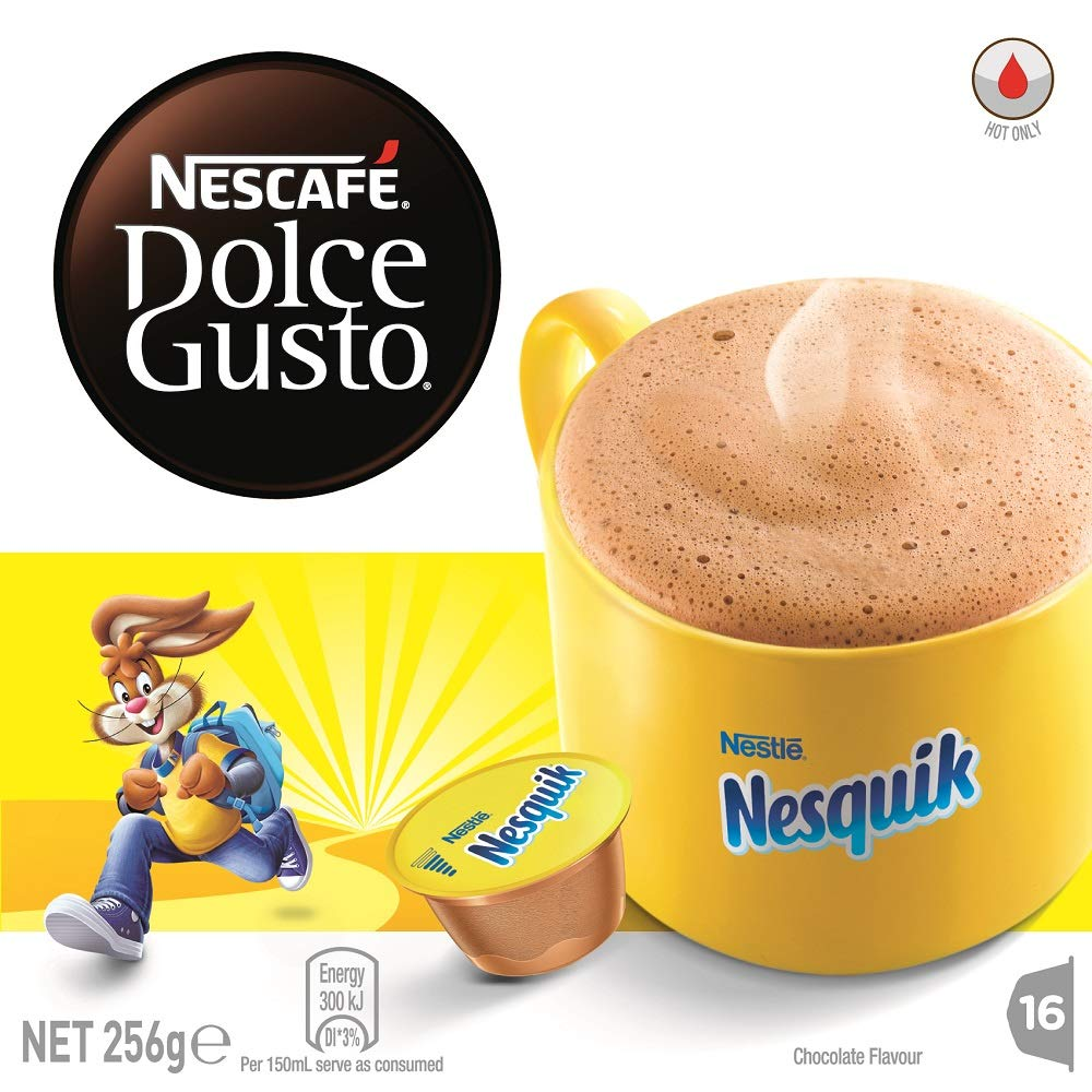 Nescafe Dolce Gusto Nesquik Chocolate Flavored Capsules 16 Capsules Buy Online In Oman At Oman Desertcart Com Productid 155637681