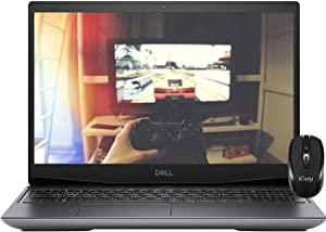 "2020 Flagship Dell G5 15 VR Ready Gaming Laptop 15.6"" FHD 144Hz AMD Octa-Core Ryzen 7 4800H (Beats I7-9750H) 16GB DDR4 1TB PCIe SSD 6GB AMD RX 5600M RGB Backlit HDMI Win 10 + iCarp Wireless Mouse"