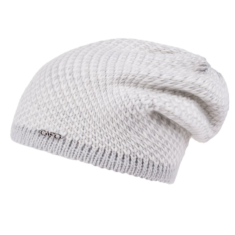 73d3c284d03 Capo Sloppy Beanie - Silver Beige  Amazon.co.uk  Sports   Outdoors