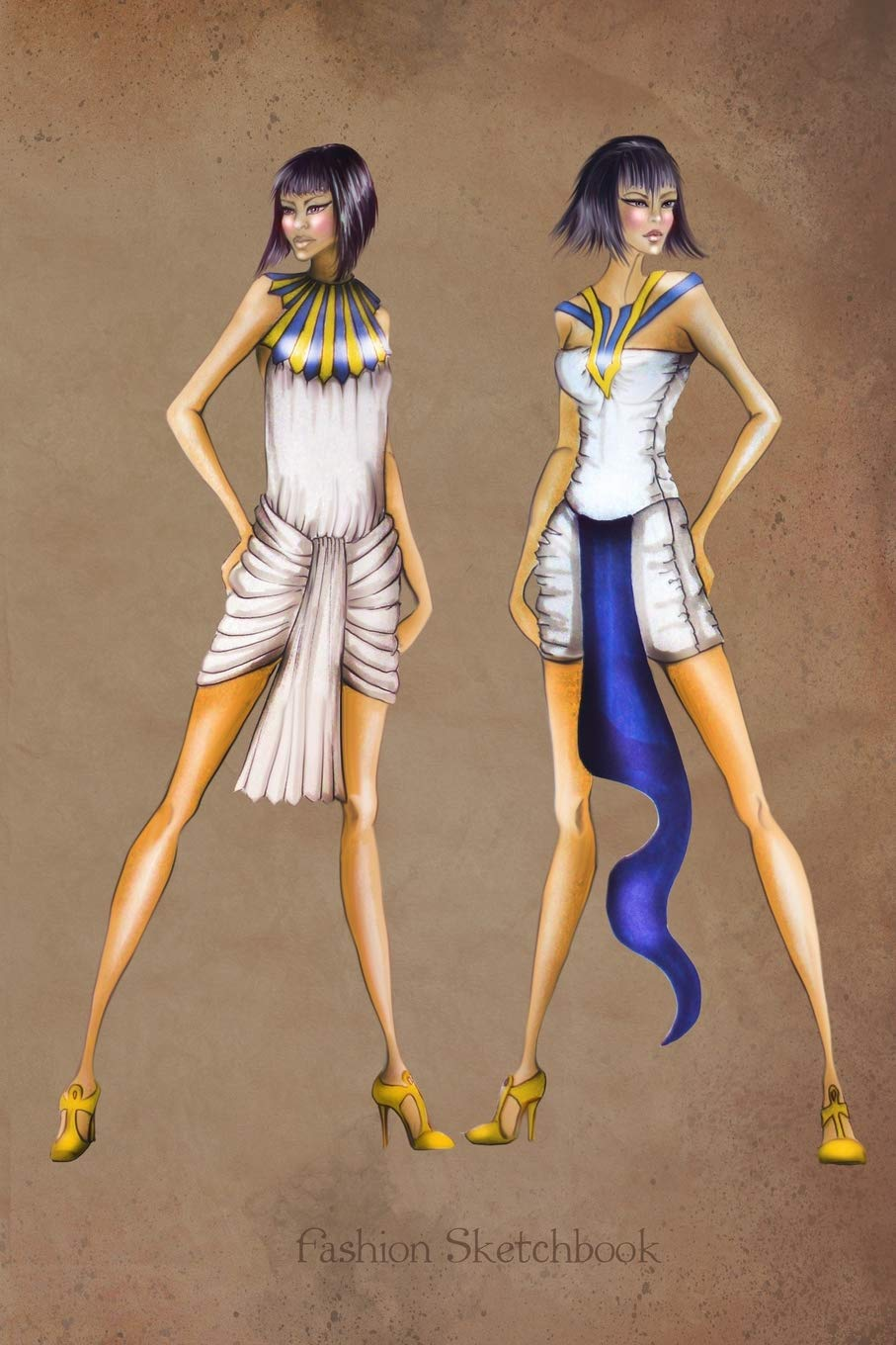 Buy Fashion Sketchbook Ancient Egypt Fashion Illustrations Fashion Croquis Templates For Designers Book Online At Low Prices In India Fashion Sketchbook Ancient Egypt Fashion Illustrations Fashion Croquis Templates For Designers Reviews
