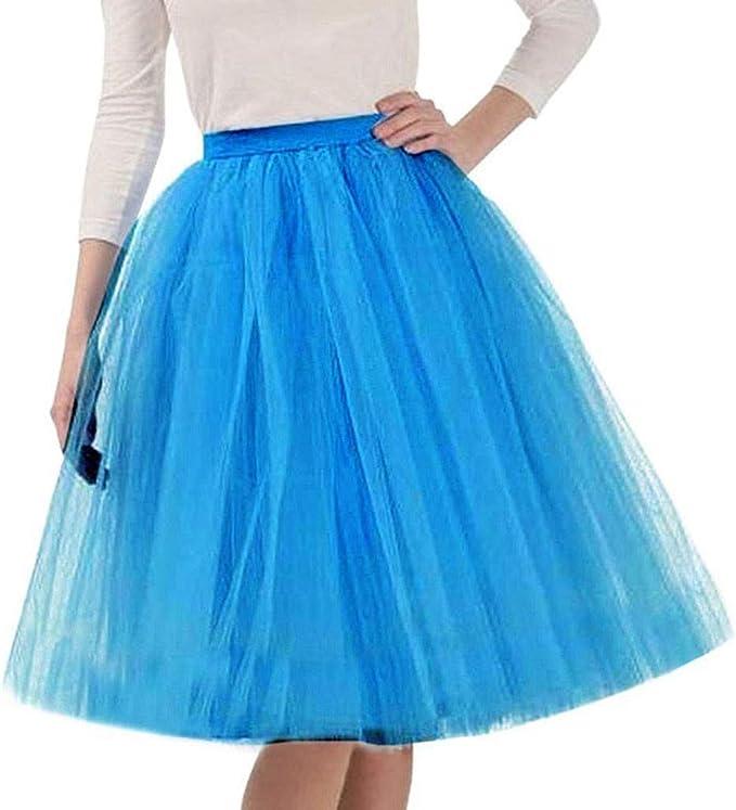 Hokoaidel Faldas de Tul Enaguas AñOs 50 Vintage para Vestidos ...