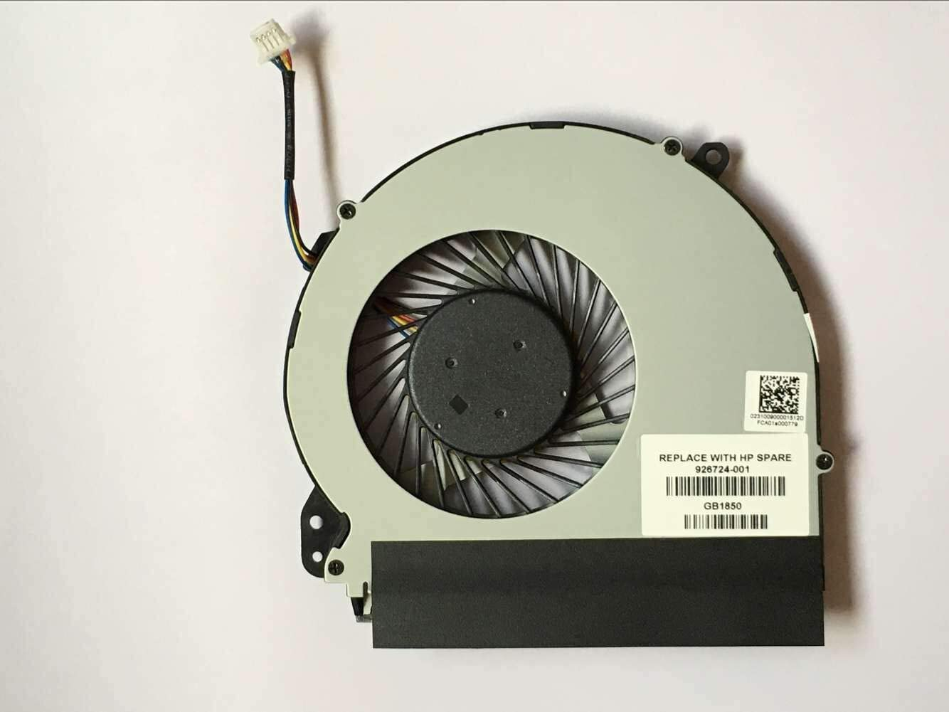Z-one Fan Replacement for HP Notebook 17-X 17-X000 17-Y 17-AK 17-AK000 17-BS 17-BS100 17-BS000 Series CPU Cooling Fan 926724-001 856681-001,856682-001 4-Wire