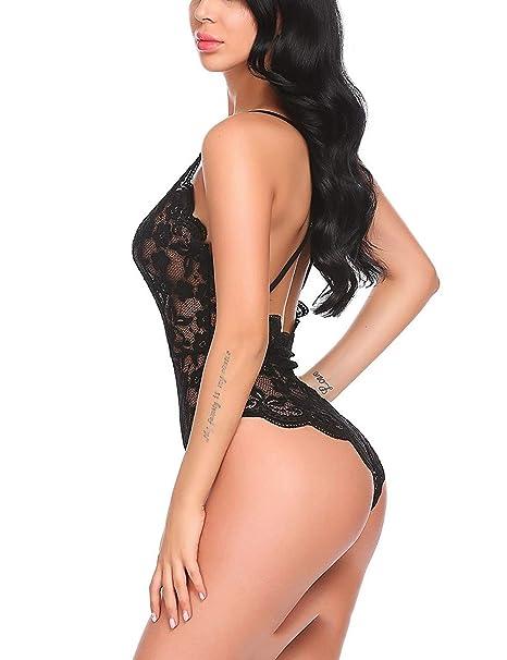 HXLDLM Encaje Europeo Y Americano Combinado Lencería Sexy Extremadamente Tentador Discoteca Lencería Sexy Mujer