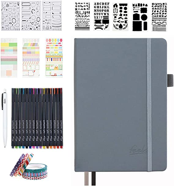 Dotted Journal Set With Accessories