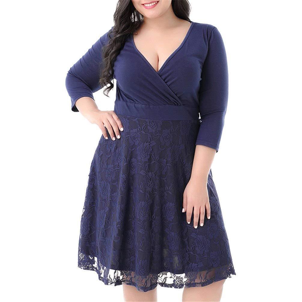 bdcb800dd0 KILOLONE Womens 50s Plus Size Dresses Christmas Party Vintage Retro  Bridesmaid Evening Lace Sleeveless Cocktail Dress  1541017435-348573  -   12.99