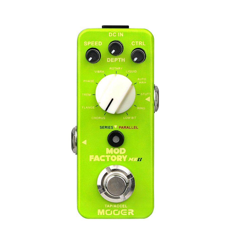 MOOER Mod Factory MKII Modulation Effects Pedal