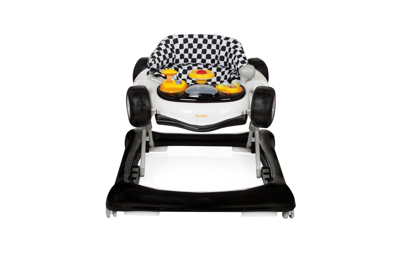 Baninni Vitali BN812 - Andador para bebé, color blanco y negro ...