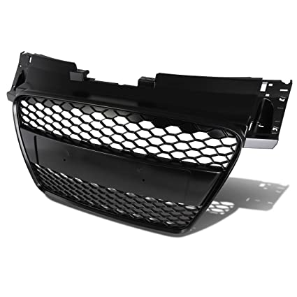 Amazoncom For Audi Tt Abs Plastic Rs Honeycomb Mesh Style Front