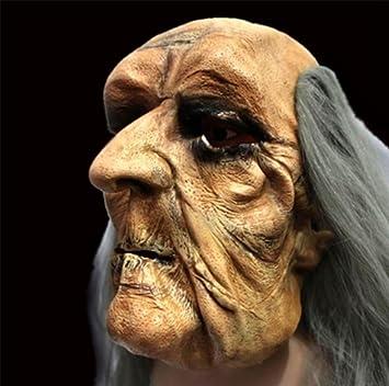 Mnii Super Horror Bar Halloween Grimasse Kopfbedeckung Glatze Kahl