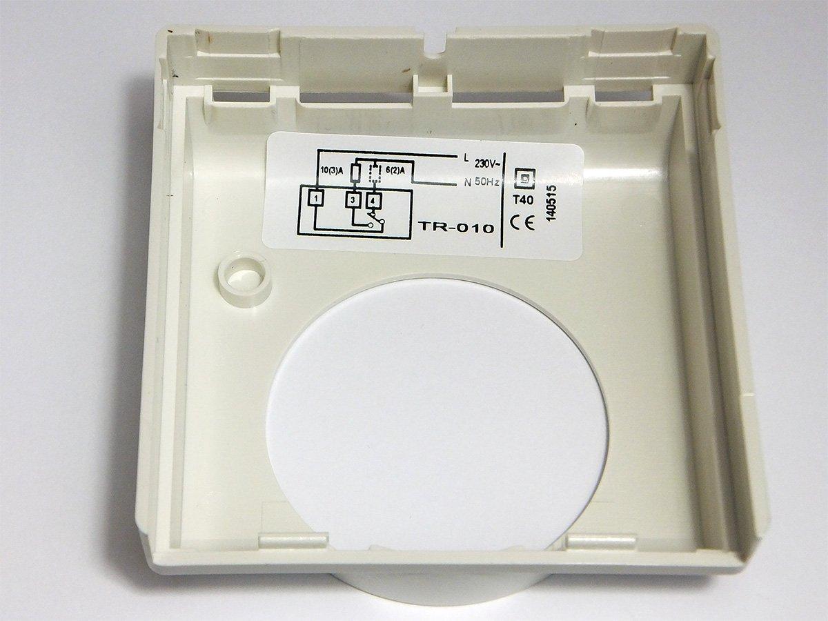 comput Herm tr de 010/Thermostat m/écanique