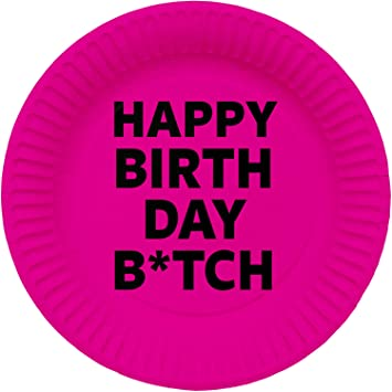 8 Platos para Fiestas * Happy Birthday B * TCH * para Fiesta ...